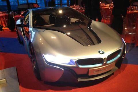 Festival Automobile BMW i8 concept